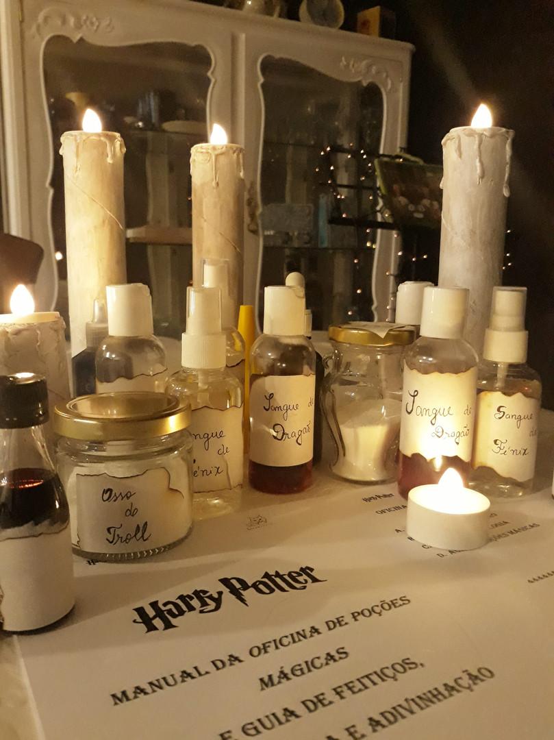Oficina de Poções Mágicas - Harry Potter