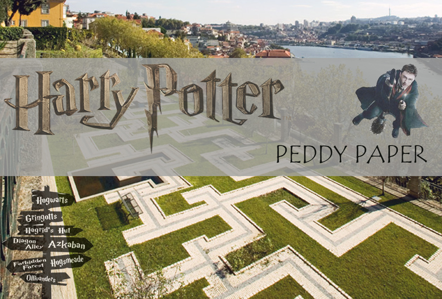 Peddy Paper Porto com Harry Potter