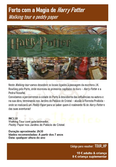 PORTO COM A MAGIA DE Harry Potter