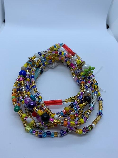 Chakra Healing Waist Beads