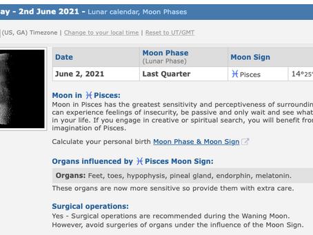 Wednesday, June 2, 2021
