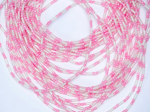 Glow-in-the-Dark Waist Beads (Pink)