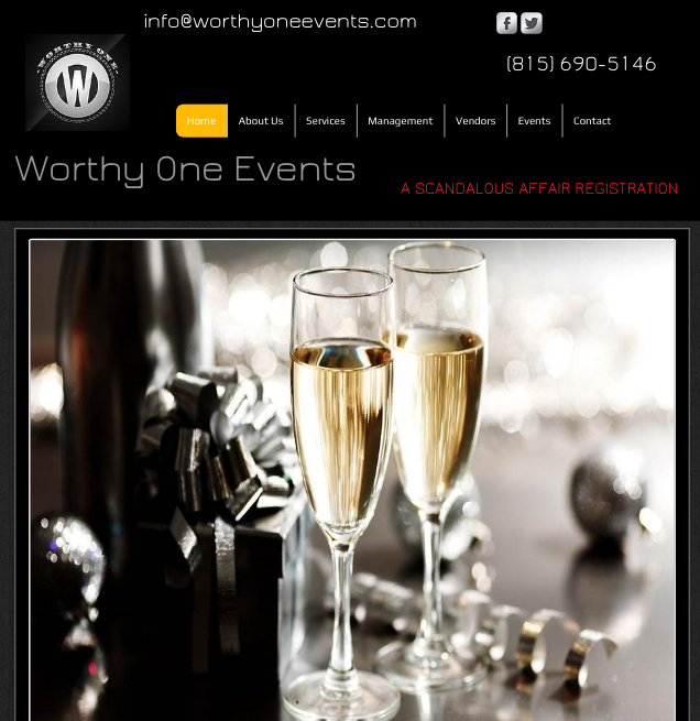Website Design-Events