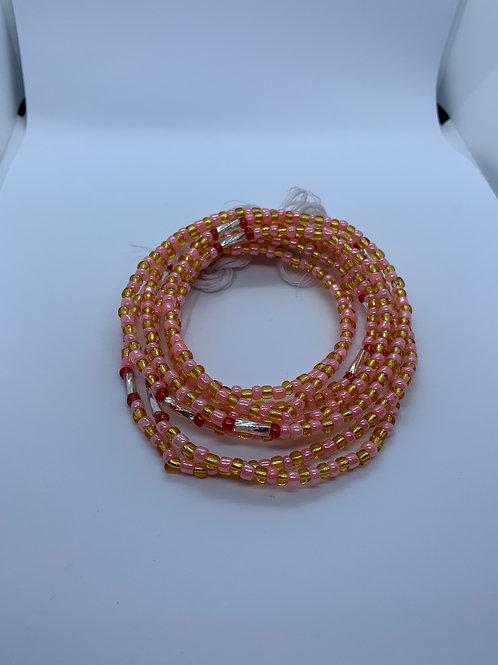 Open Heart Waist Beads