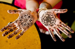 Goddesses That Jingle with Henna!