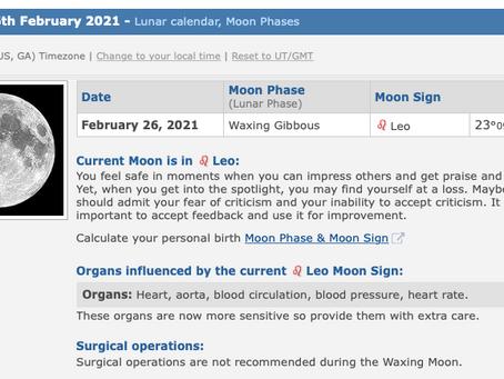 Friday, February 26, 2021