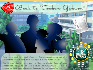 """Back to Touken Gakuen"" Character Applications OPEN"