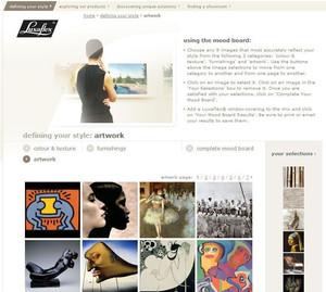 Luxaflex Website