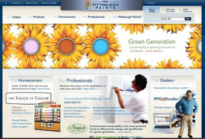 Pittsburg Paints Brand Site