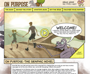 Author Site and Companion App