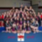 Whole Champion Gymnastics Team