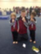 Boy's competition gymnastics San Diego