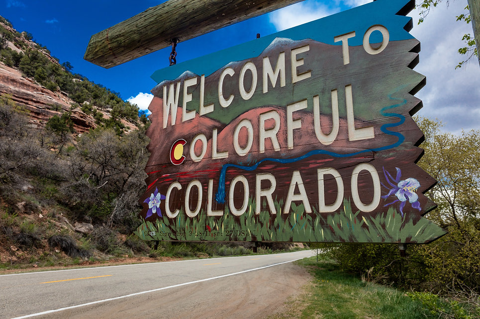 Welcome to Colorful Colorado State Road