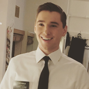 Backstage at The Book Of Mormon