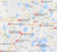 Orlando Cemeteries served by Stokes Monuments