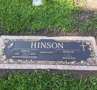 Hinson Bronze Dr. Phillips Cemetery