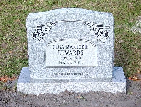 Mt. Peace Cemetery Upright Headstone