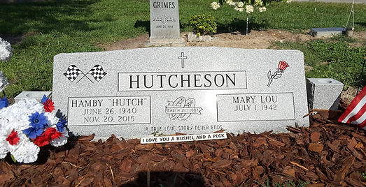 Hutcheson Double Slant Marker
