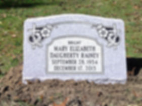 Pineywood Cemetery Slant Marker Monument
