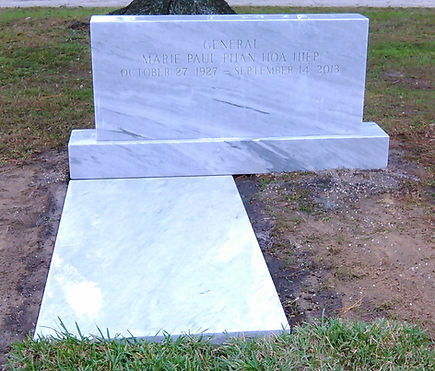 Cherokee Marble Upright Monument Ledger Palm Cemetery