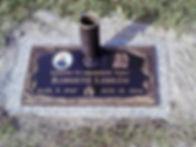Osceola Memory Gardens Bronze Marker
