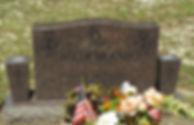 Dakota Mahogany Upright Monument Polished 5 Oviedo Cemetery