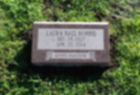 Greenwood Cemetery Missouri Red Bevel Marker-min.jpg