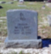 Eatonville Cemetery Upright Monument Gray