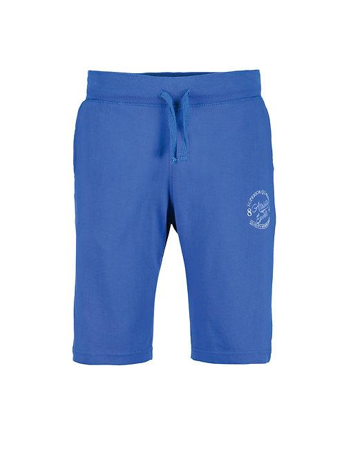 Blue Seven Jersey Burmudas in Blue