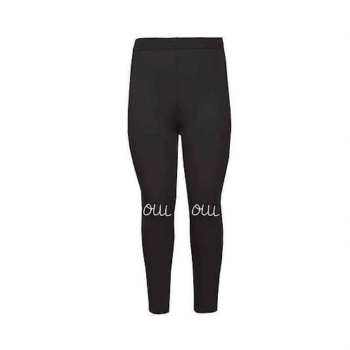 Oui Oui Black Leggings