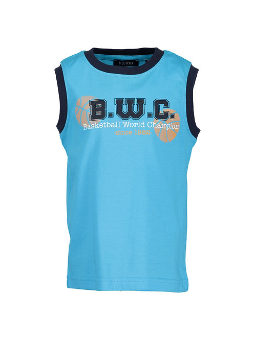 Blue Seven Teal BWC Sleeveless Tee