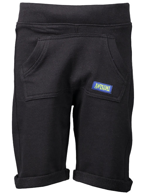 Blue Seven Black Jersey Shorts