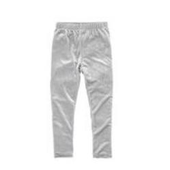 Velvet Leggings in Silver
