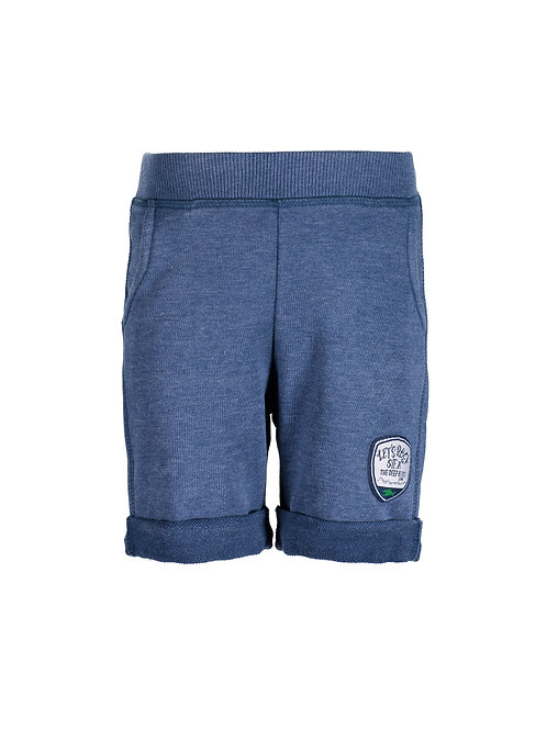Blue Seven Blue Washed Out Jersey Shorts
