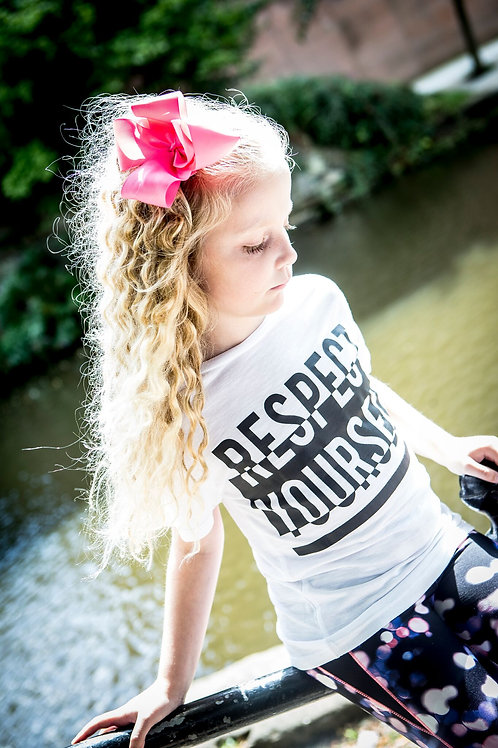 'Respect Yourself' White Tee