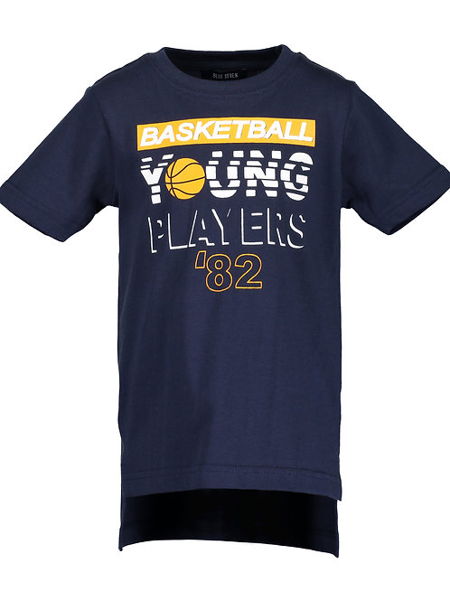 Blue Seven Navy Young Players Tee
