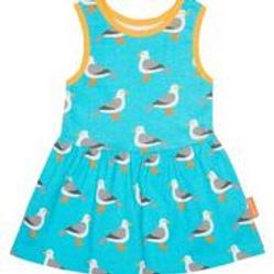 Toby Tiger Super Cool Organic Seagul Dress