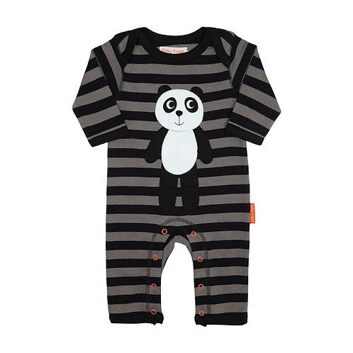 Toby Tiger Organic Panda Baby Grow