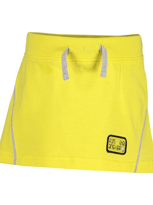 Blue Seven Yellow Knitted Jersey Skirt