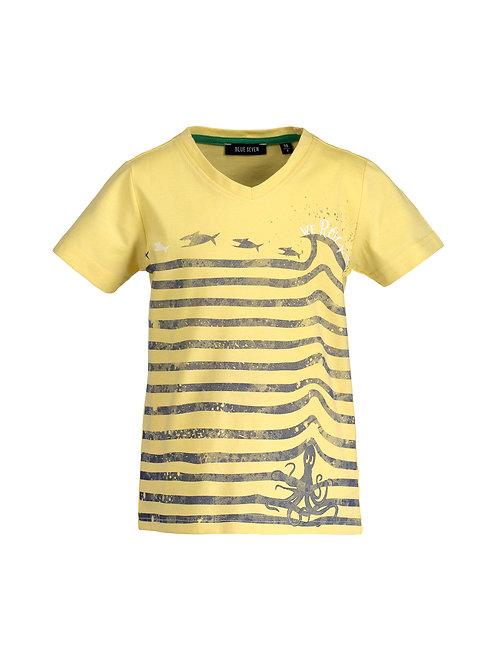 Blue Seven Yellow We Rock Tee