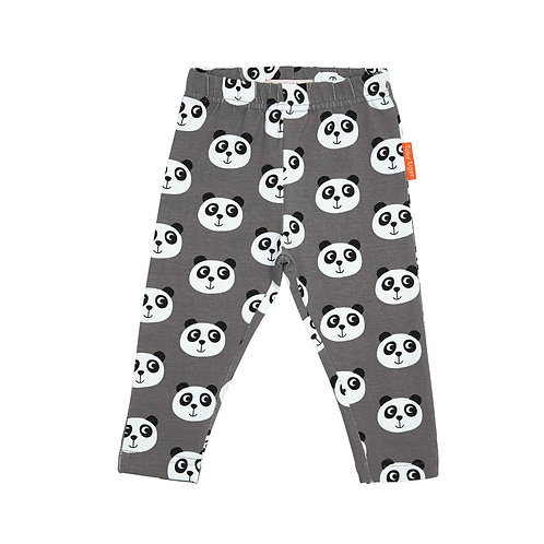 Toby Tiger Organic Cotton Panda Leggings