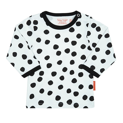 Toby Tiger Organic Cotton Spot Tee