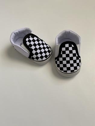 Soft Sole Checkered Kicks