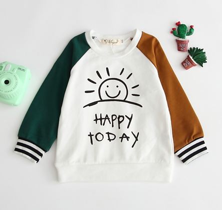 Happy Today Pullover