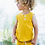 Thumbnail: Teddy 2-Piece Tank Set - Yellow