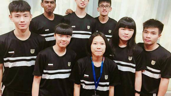 Bola Keranjang : Wakil pemain pasukan Pahang di Kejohanan MSSM 2018
