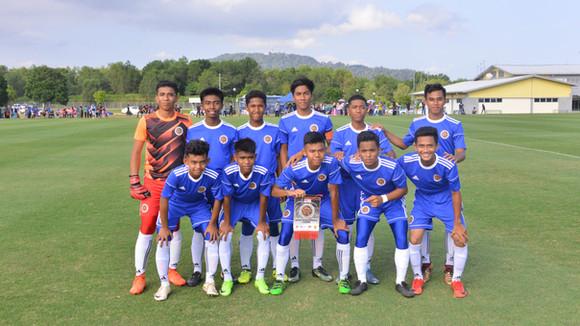 Bola Sepak : SSMP (B) Bawah-14 menang besar ke atas SMK Bukit Nenas (SSN Terengganu)