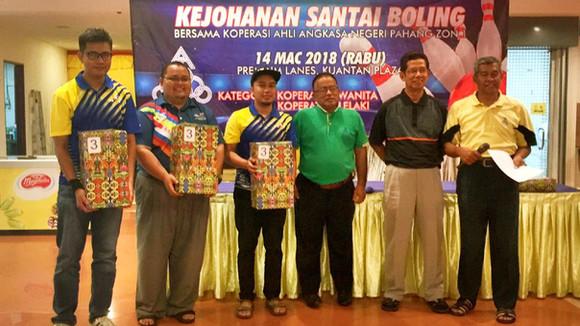 Kejohanan Santai Bowling Jemputan Koperasi Angkasa Negeri Pahang