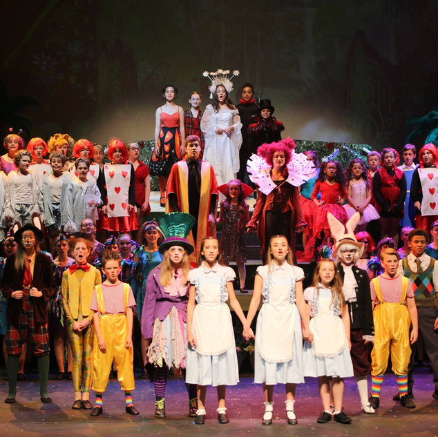 Alice In Wonderland Musical 1