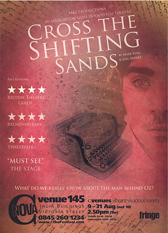 CROSS THE SHIFTING SANDS